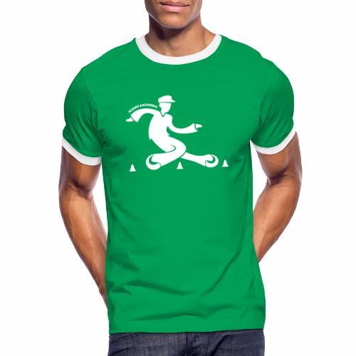 Tshirt bicolore slalomeur freestyle - T-shirt contrasté Homme