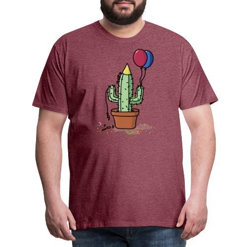 Mannen Premium T-shirt - flowercontest,flower,contest