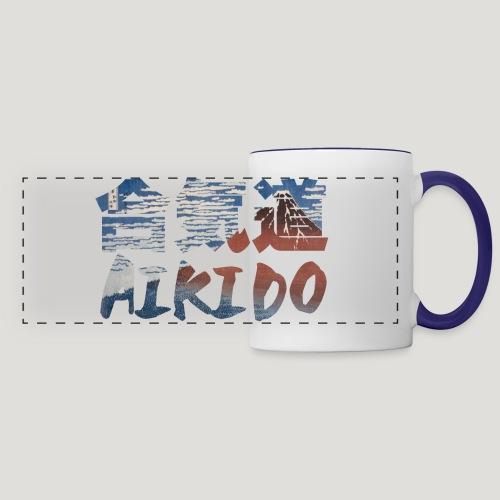 Aikido Hokusai Red Fuji - Panoramamok