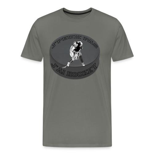 j'peux pas j'ai hockey - T-shirt Premium Homme
