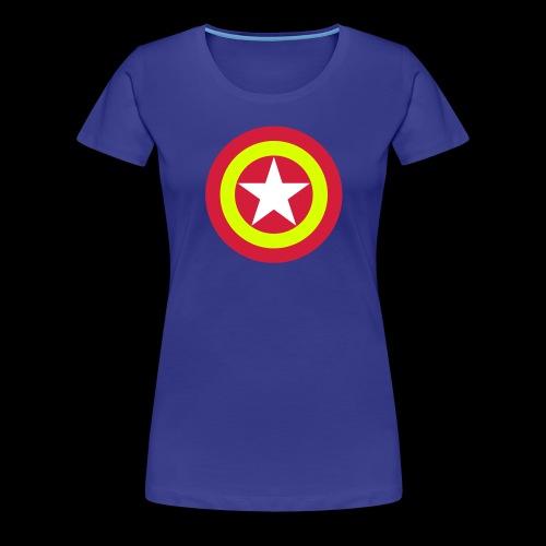Escudo de España con estrella - Camiseta premium mujer