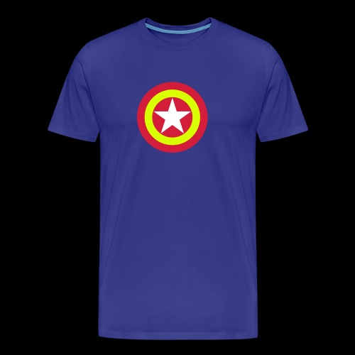 Escudo de España con estrella - Camiseta premium hombre