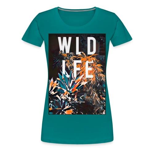 WLDLFE #1 - Frauen Premium T-Shirt