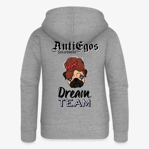 Hunde Dream Team - Frauen Premium Kapuzenjacke