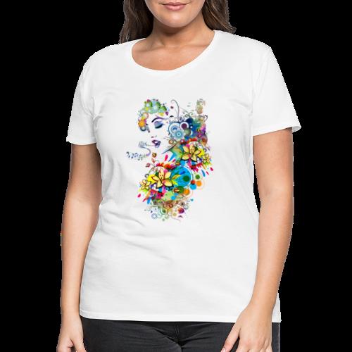 Lady singer Tee shirts - T-shirt Premium Femme