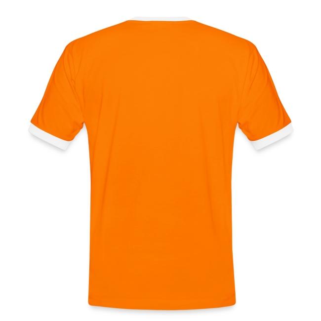 Code oranje mannen contrastshirt