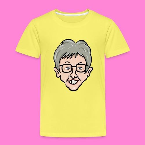 Karikatuur op een shirt - Kinderen Premium T-shirt