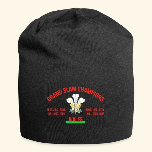 Wales Grand Slam - Jersey Beanie