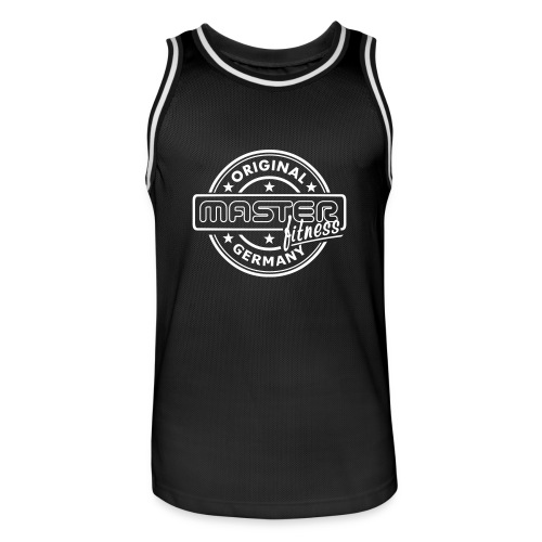 Masterfitness-Trainingsshirt - Männer Basketball-Trikot