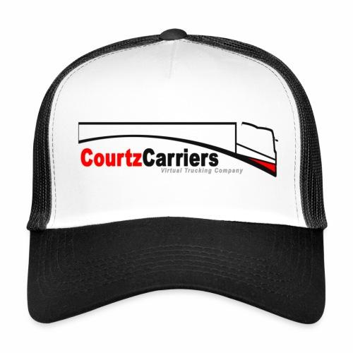 Truckers cap (black logo) - Trucker Cap