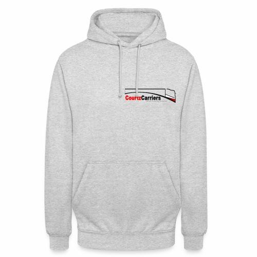 Personalised hoodie (black logo) - Unisex Hoodie