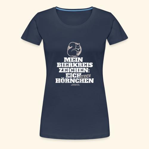 Lustiges Bier T Shirt Eichstrichhörnchen - Frauen Premium T-Shirt