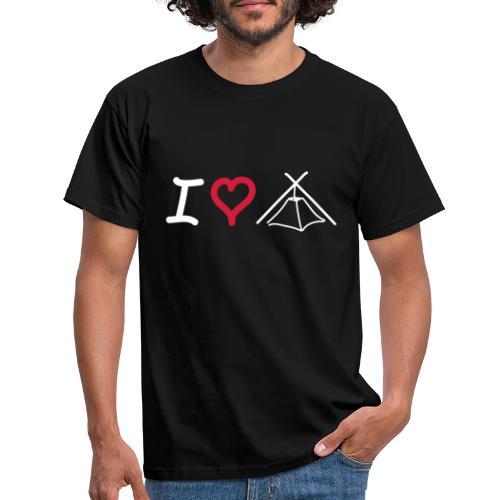 I LOVE KOHTE - Männer T-Shirt