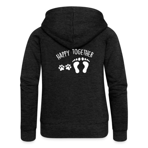 38453d51 Women's Premium Hooded Jacket - happy together - Women's Premium Hooded  Jacket