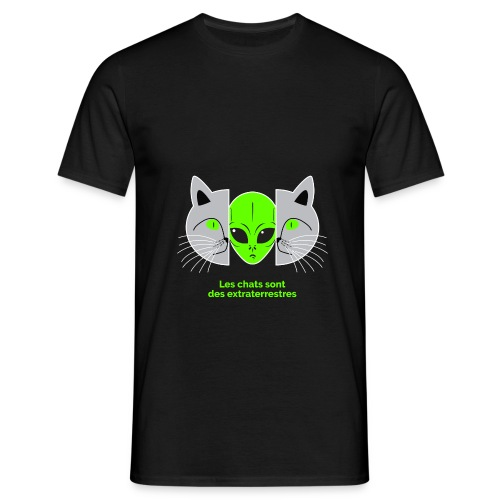 Chats Extraterrestres - T-shirt Homme