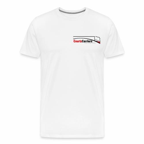 crtz tshirt (black logo) standard - Men's Premium T-Shirt
