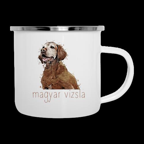 Magyar Vizsla - Emaille-Tasse