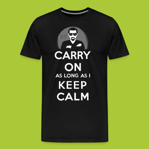 Carry On - Keep Calm - Männer Premium T-Shirt