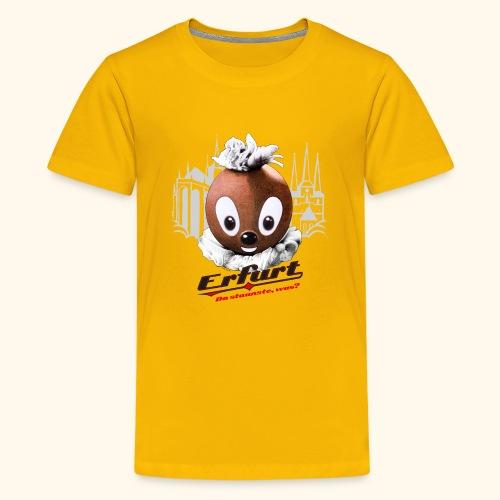 Teenager Premium T-Shirt Pittiplatsch Erfurt - Teenager Premium T-Shirt