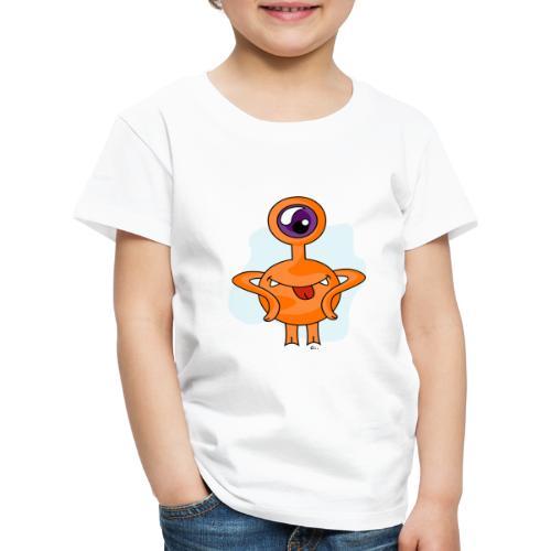 """T-shirt Enfant Petit Monstre Orange"""" - T-shirt Premium Enfant"""
