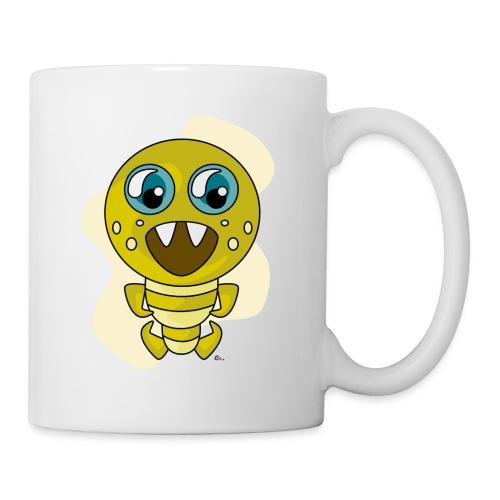 """Mug Petit Monstre Vert"""" - Mug blanc"""