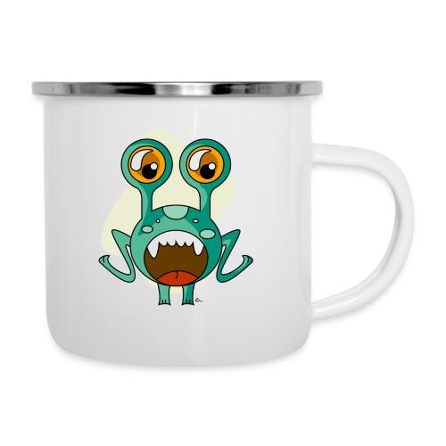 """Mug Petit Monstre Sourire"""" - Tasse émaillée"""