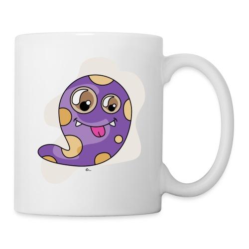 """Mug Petit monstre Violet"""" - Mug blanc"""