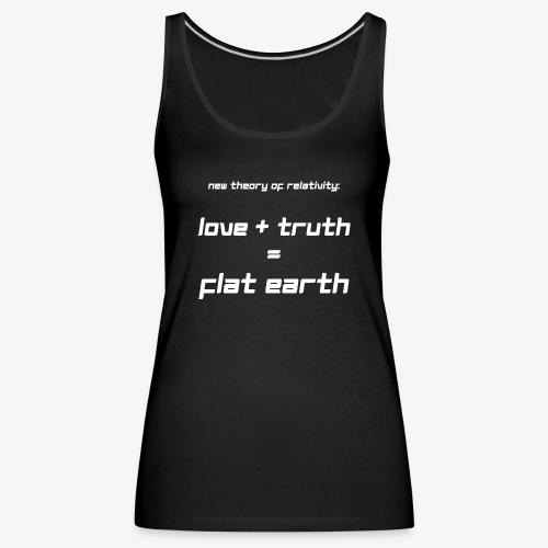Frauen Premium Tank Top Flat Earth - Frauen Premium Tank Top