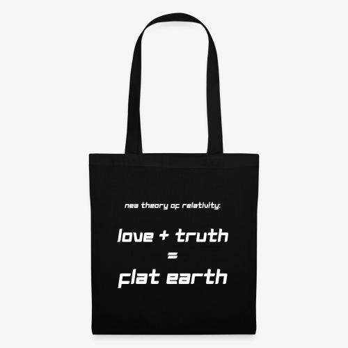 Stoffbeutel Flat Earth - Stoffbeutel