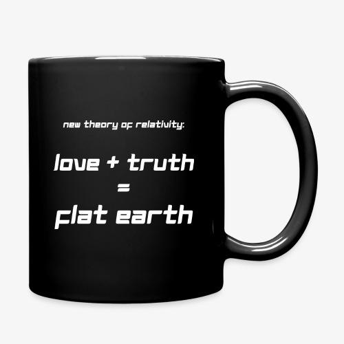Tasse Flat Earth - Tasse einfarbig