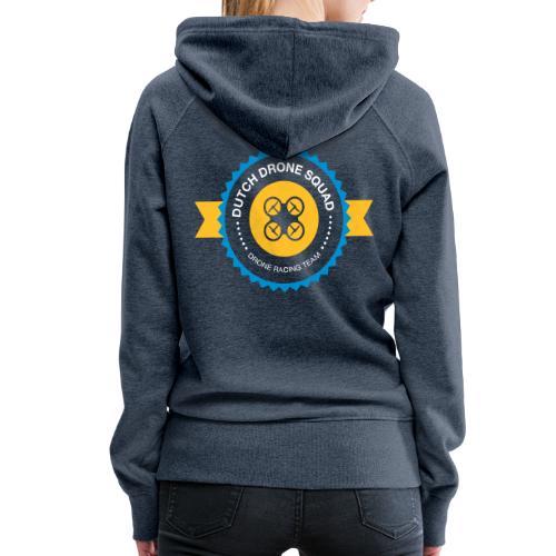 DDS Vrouw   Hoodie jeansblauw - Vrouwen Premium hoodie