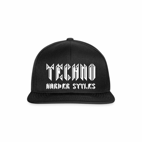 Techno  Harder Styles - Cap - Snapback Cap