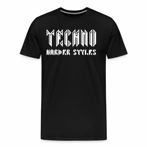 Techno  Harder Styles - T-Shirt - Männer Premium T-Shirt