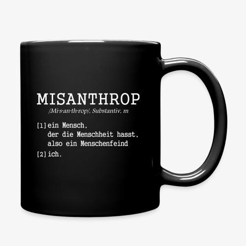 Tasse MISANTHROP - Tasse einfarbig
