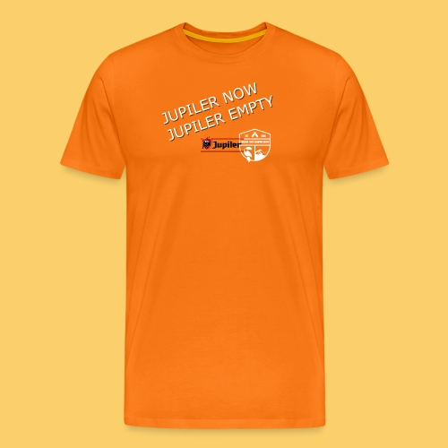 Jupiler NOW, Jupiler EMPTY! - Männer Premium T-Shirt