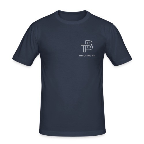 SLimFit - Slim Fit T-skjorte for menn