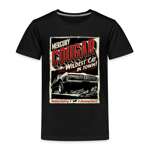 Cougar / Rot / Kinder T-Shirt - Kinder Premium T-Shirt