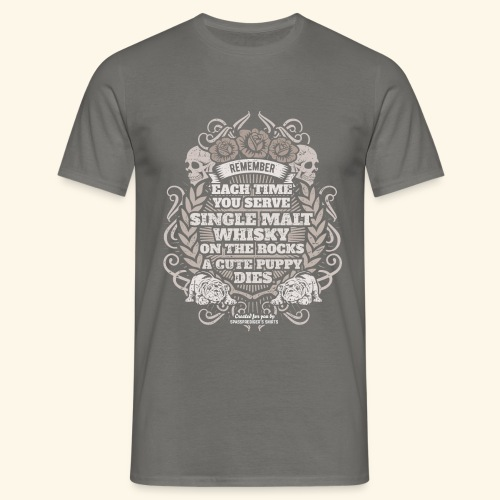 Whisky T Shirt Single Malt Whisky - Männer T-Shirt