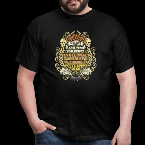 Whisky T Shirt Single Malt Whisky - Men's T-Shirt