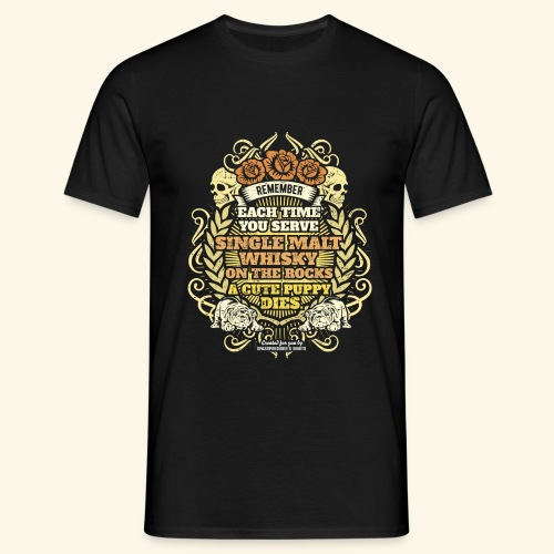 Whisky T Shirt Single Malt Whisky - Männer T-Shirt