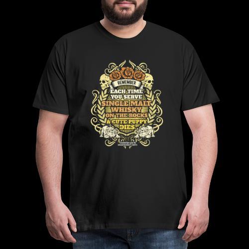 Whisky T Shirt Single Malt Whisky - Men's Premium T-Shirt