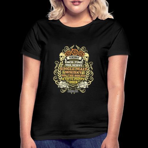 Whisky T Shirt Single Malt Whisky - Women's T-Shirt