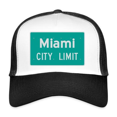 Miami City Limit - Trucker Cap