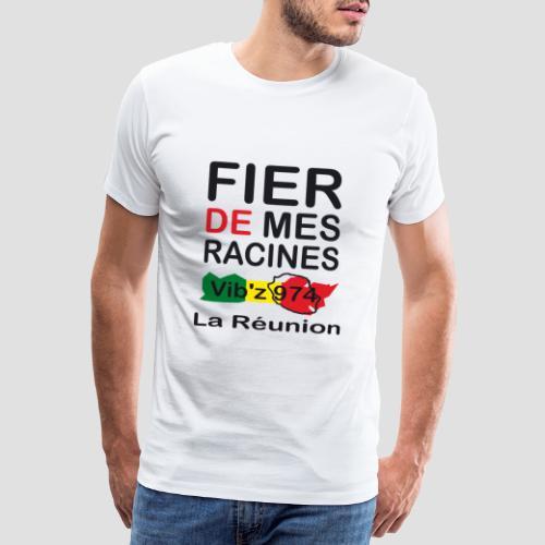 T-shirt Premium Homme fier racines - T-shirt Premium Homme