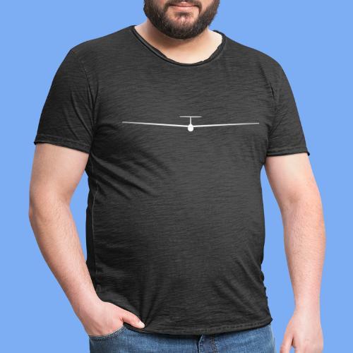 Segelflieger T-Shirt Segelflugzeug PIK20e - Men's Vintage T-Shirt