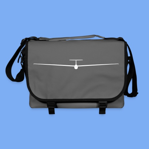Segelflieger T-Shirt Segelflugzeug PIK20e - Shoulder Bag