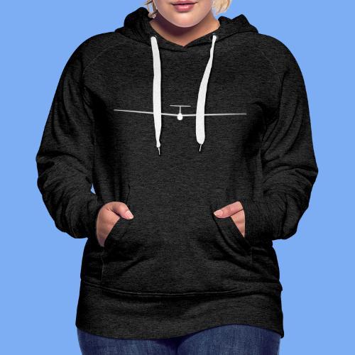 Segelflieger T-Shirt Segelflugzeug PIK20e - Women's Premium Hoodie