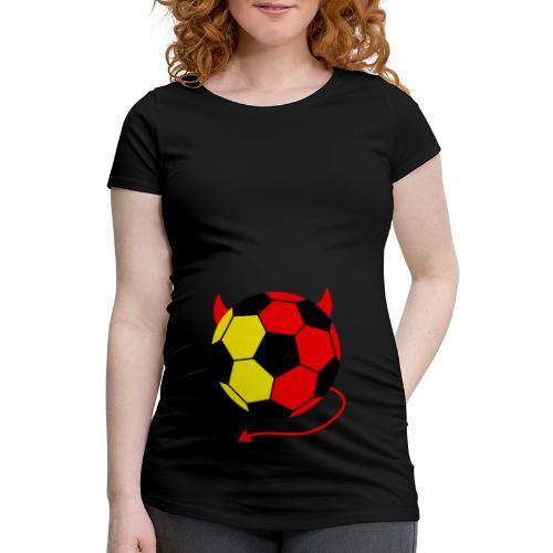 T SHIRT DE GROSSESSE DIABLES ROUGES - T-shirt de grossesse Femme