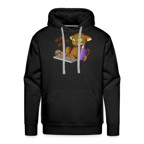 Männer Hoodie Maki McFly - Männer Premium Hoodie