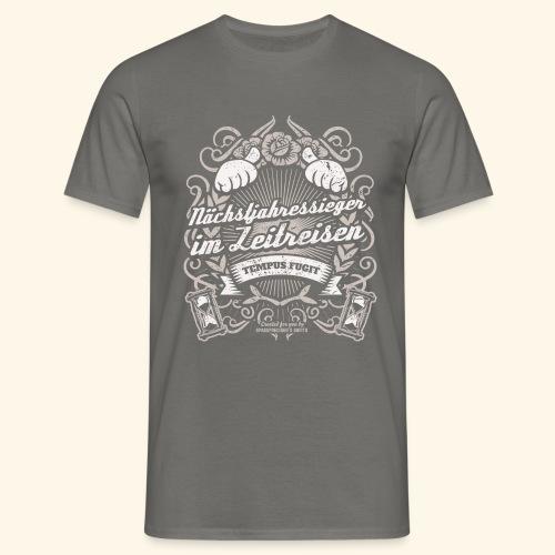 Lustiges Sprüche T Shirt Zeitreisen - Männer T-Shirt